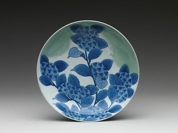 Period: Edo period (1615–1868) Date: ca. 1690–1730 Culture: Japan Medium: Porcelain with celadon glaze and underglaze blue decoration (Hizen ware, Nabeshima type)