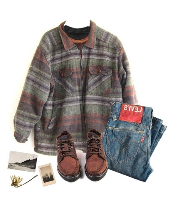 """Not old but mature."" by fancy-fox ❤ liked on Polyvore featuring Floyd, Retrò, Levi's and vintage"