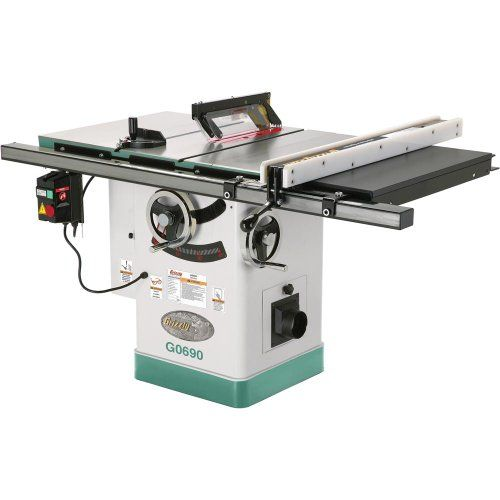 Grizzly G0690 Cabinet Table Saw with Riving Knife, 10-Inch Grizzly http://smile.amazon.com/dp/B0029VN2SA/ref=cm_sw_r_pi_dp_Q56Qwb0FGGE3F