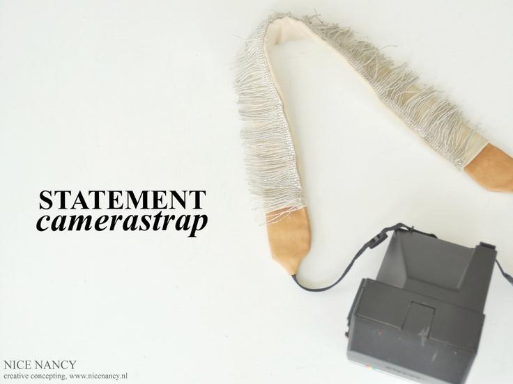 DIY camerastrap with tassels, from my new blog www.nicenancy.nl
