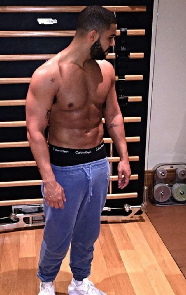 Drake works out early in the morning on July