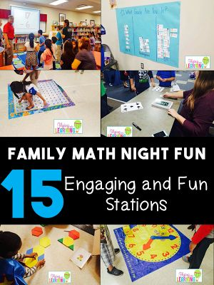Math Night Fun!!