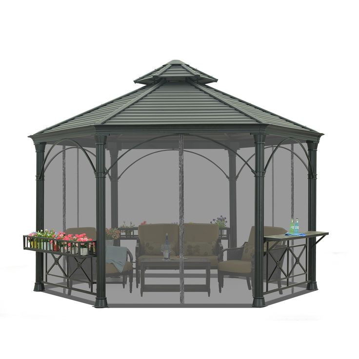 1000 images about am nagement ext rieur on pinterest for 8 sided gazebo plans