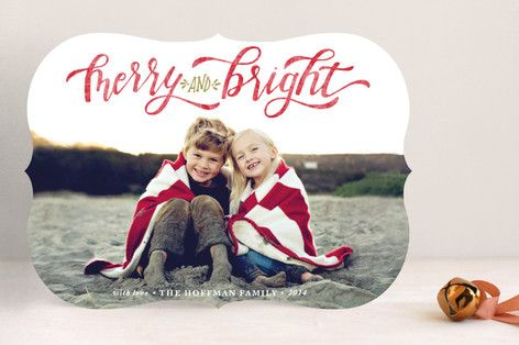 Minted's 2014 Holiday Photo Card Collection is here.