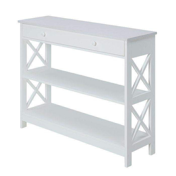 Gracelynn 39 5 Console Table Johar Furniture Console Table White Console Table