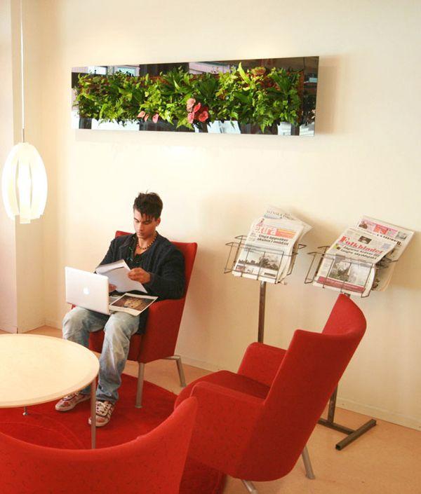 Artscreen - Tropisk Design Green wall, plant, plants, living wall