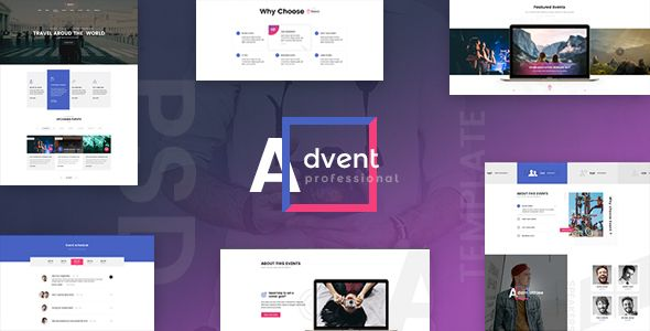 ADVENT - Event Management PSD Template - Events Entertainment Download here : https://themeforest.net/item/advent-event-management-psd-template/20599577?s_rank=100&ref=Al-fatih