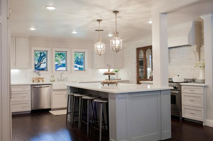 Get kitchen remodeling ideas from these inspiring Fixer Upper transformations and the experts at HGTV.com.