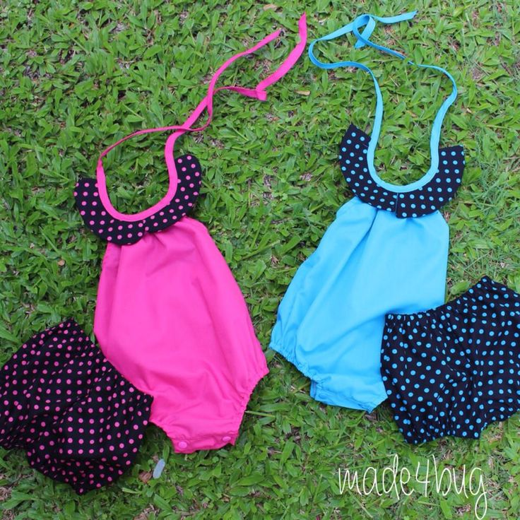 Darling Playsuit and Flexi shorts starting at $45 size 0000 to 3 www.facebook.com/made4bug