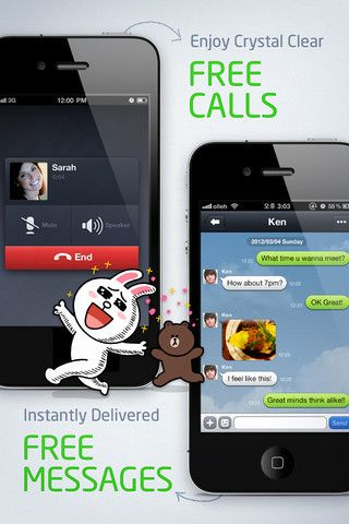 Line: Messaging app