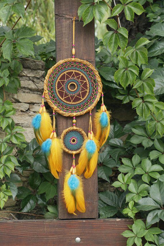Dream catcher/Colorful Gypsy от FancyNatalie на Etsy