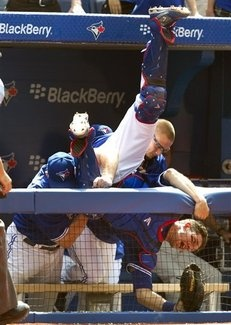 Catching J.P. Arencibia