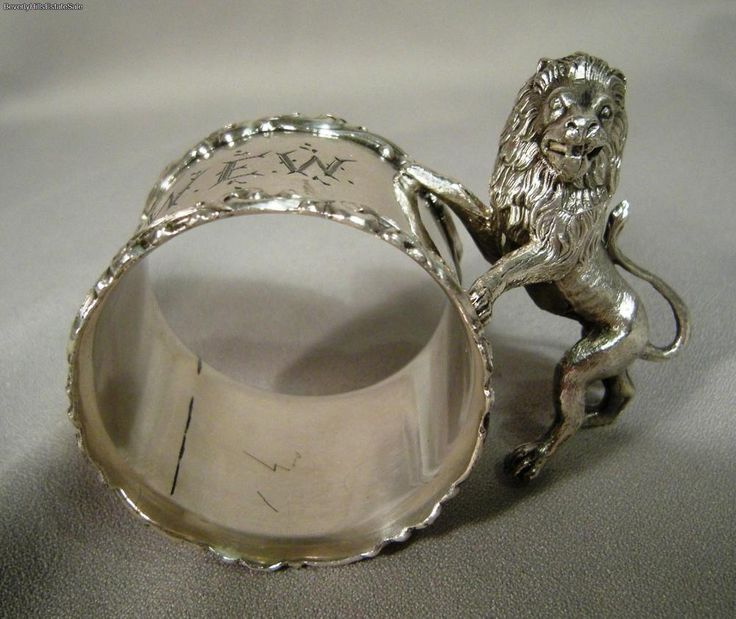 236 Best China Napkin Rings Silver Copper Gold