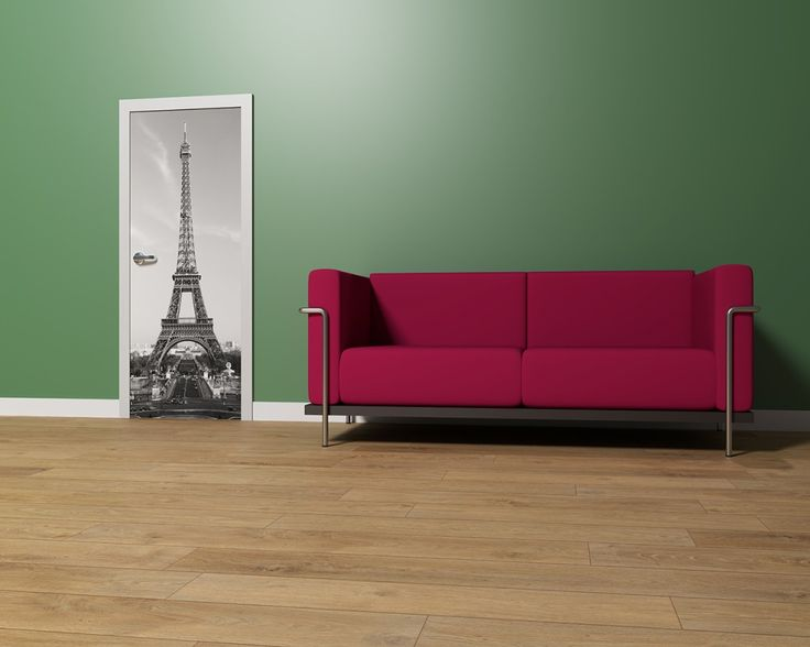 Door Decor La Tour Eiffel | Türdekor Eiffelturm