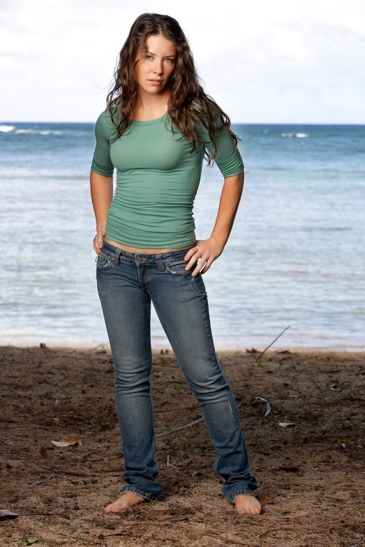 evangeline lilly with both - photo #38