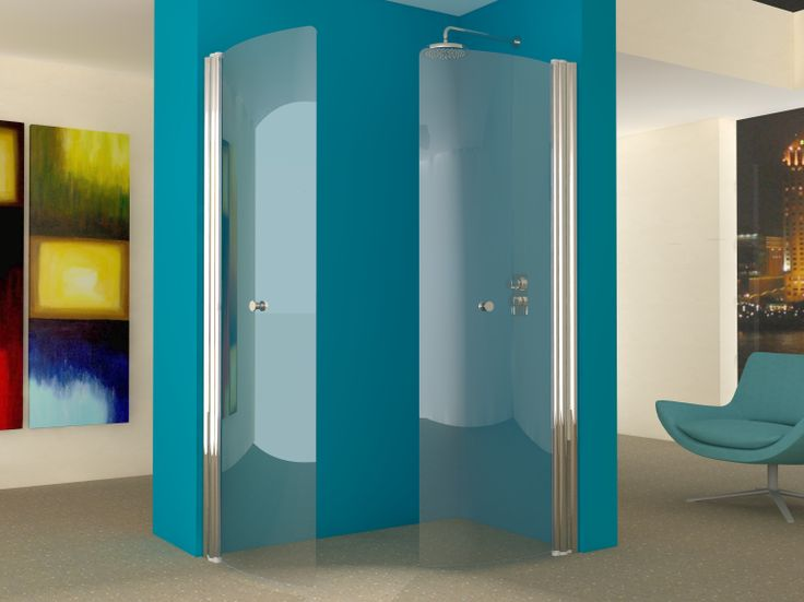 Our hinged wet room screens can be used in pairs to form for Wet room shower screen 400mm