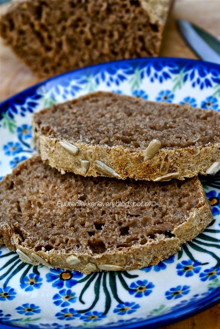 Zuurdesem brood bakken
