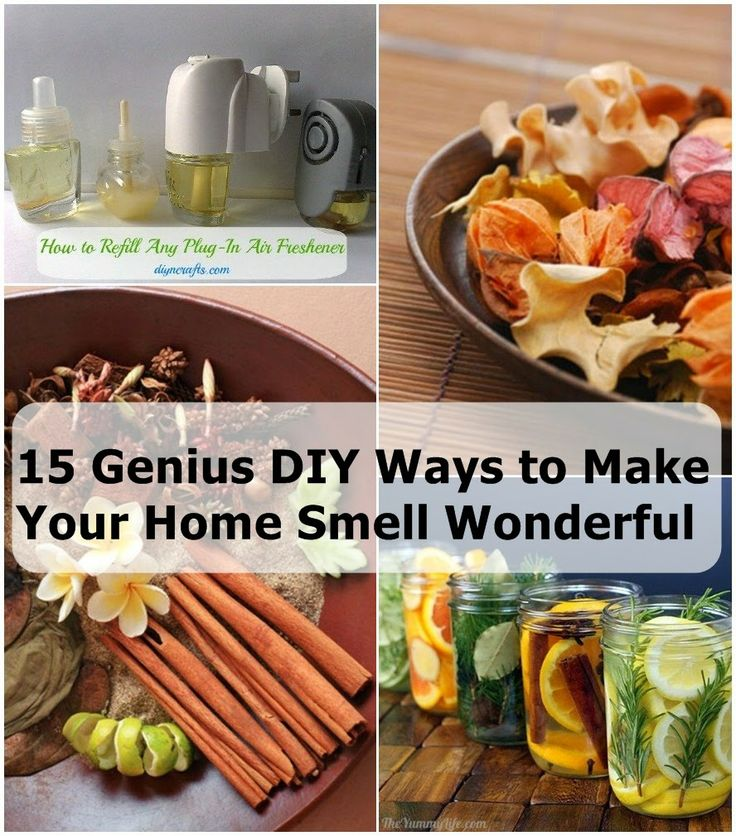 15 genius diy ways to make your home smell wonderful for What makes house smell good
