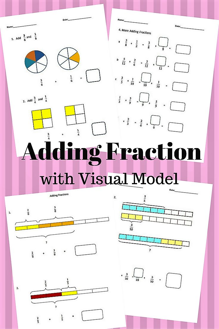 The 25 best add fractions with unlike denominators ideas on fractions worksheets 4th grade 5th grade adding fractions robcynllc Choice Image