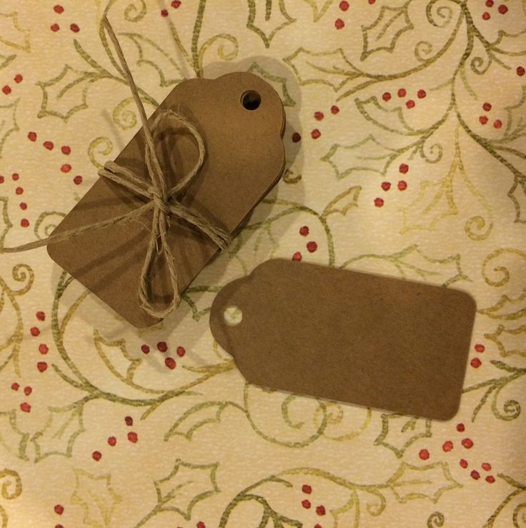 A personal favorite from my Etsy shop https://www.etsy.com/listing/255623319/mini-tags-kraft-tags-gift-wrapping-tags
