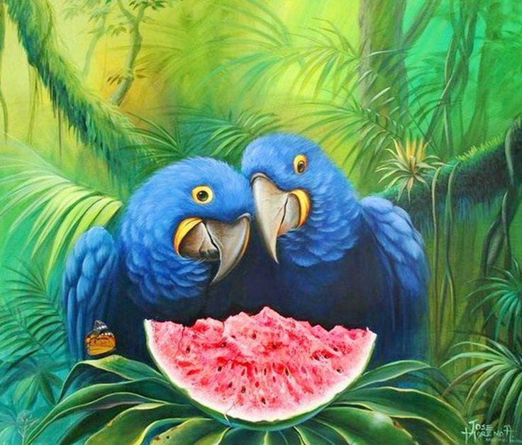 Galeria Pinturas De Arte: Jose Moreno ( Bolivia) Pinturas Al Óleo: Paisajes De La