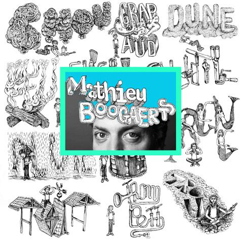 MATHIEU BOOGAERTS new album is here