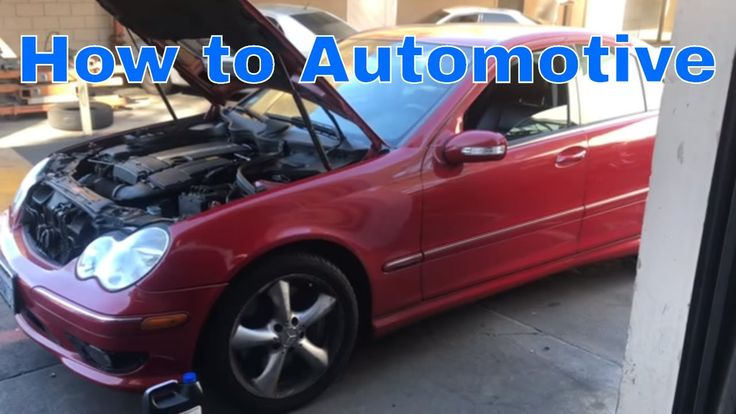 How to Replace the Thermostat on a 2001-2007 Mercedes C230 W203 with 1.8...