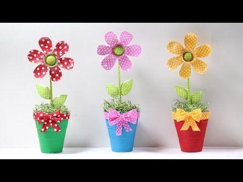 Flor de Garrafa Pet - YouTube