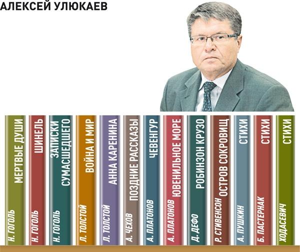 Тринадцать любимых книг зампреда ЦБ РФ Алексея Улюкаева