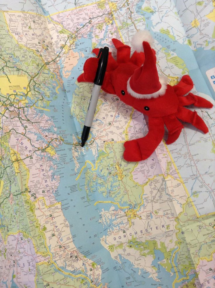 Crabby Claus is planning his journey today
