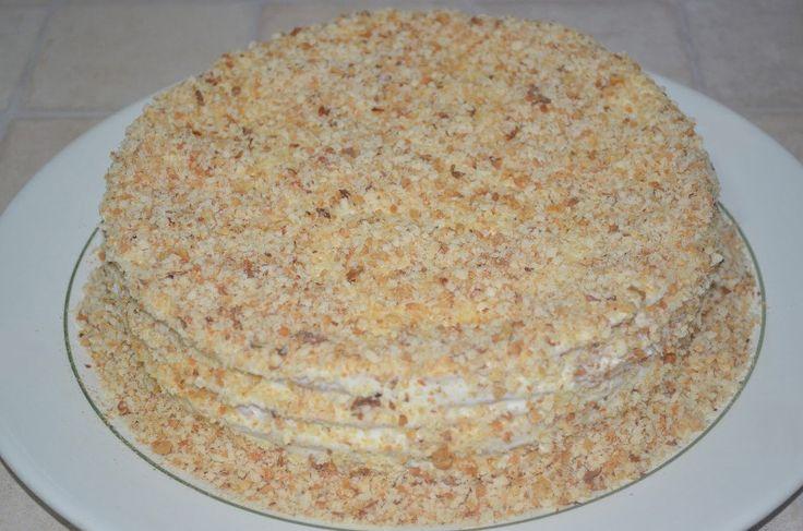 Нежный торт на сковороде