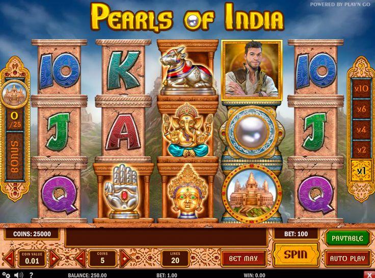 Ben je klaar om jezelf door de tijd te voeren en lijken in het oude India? Nu heb je zo'n kans met Pearls of India van Play'n Go. Deze 5-reel, 3-line video slot zal u een andere wereld tonen, degene die je nog niet vroeger gezien. Bovendien biedt het echt goede prijzen en 25.000 jackpot. Het spel heeft ook 20-winlijnen, Bonus Spel, Multiplier, Wild Symbool, Scatter Symbool en Gratis Spins.