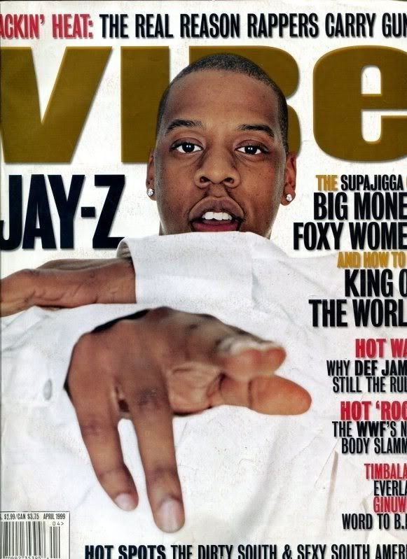Jay-Z (April 1999) | 20 Vibe Magazine Covers That Perfectly Define The '90s