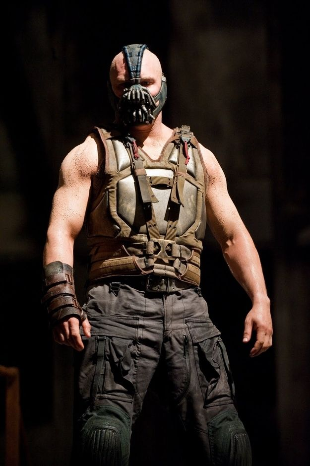 "Back to buff for ""The Dark Knight Rises"" 