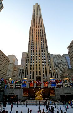 "30 Rockefeller Center, New York: Honestly, this was the one place I really wanted to see on our honeymoon in New York City. Mel and I took in a taping of ""Late Night with Conan O'Brien"" there. So cool!!"