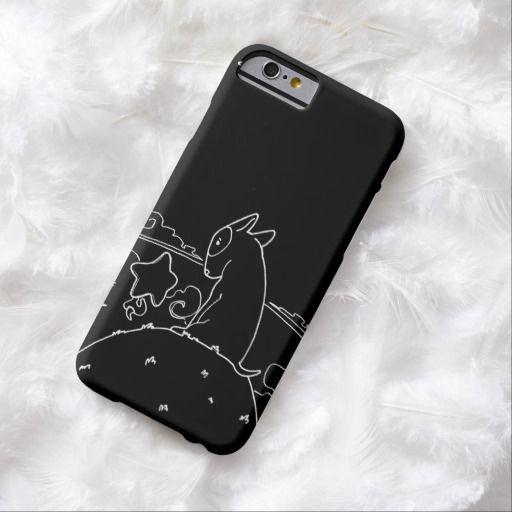 Milo Black & White (Original Bull Terrier Artwork) Barely There iPhone 6 Case