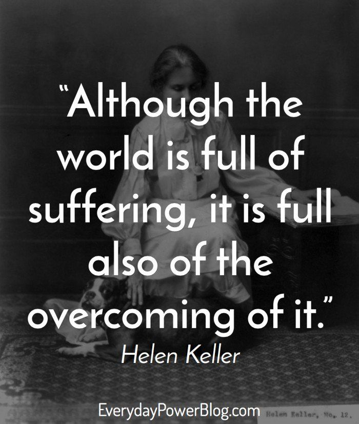 12 Motivational Helen Keller Quotes To Believe In Yourself