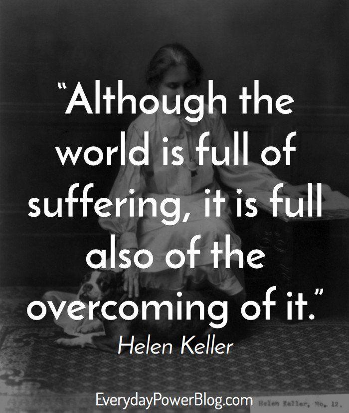 12 Motivational Helen Keller Quotes To Believe In Yourself
