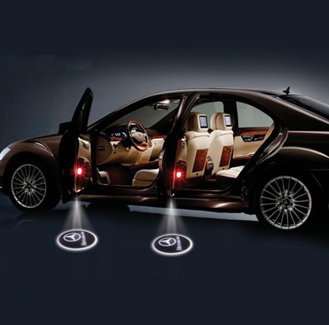 Vehículo Bienvenido Luz Led Inalámbrico Todo Tipo De Insignia Del coche de Conexión Sin Hilos Del Coche Bienvenida Sin Luz