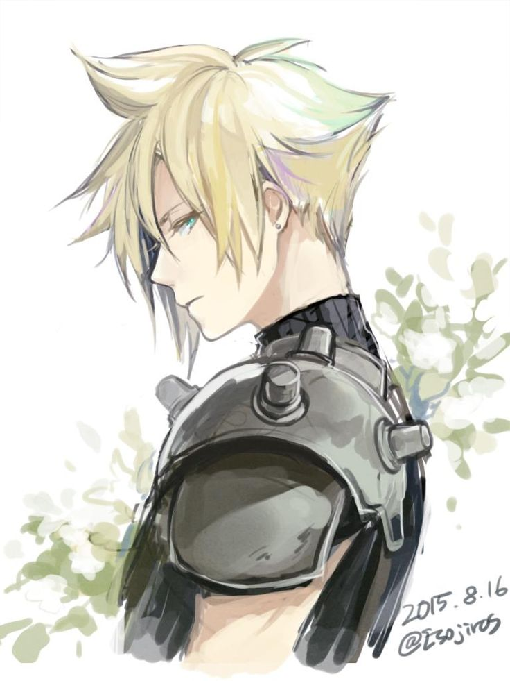 Cloud Final Fantasy VII #FFVII                                                                                                                                                                                 More