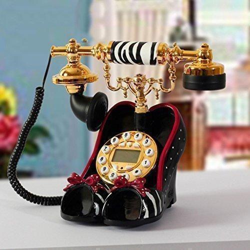 Oferta: 84.18€. Comprar Ofertas de teléfono fijo de la moda oficina de teléfono fijo en casa personalidad creativa zapatos de tacón alto de teléfono barato. ¡Mira las ofertas!