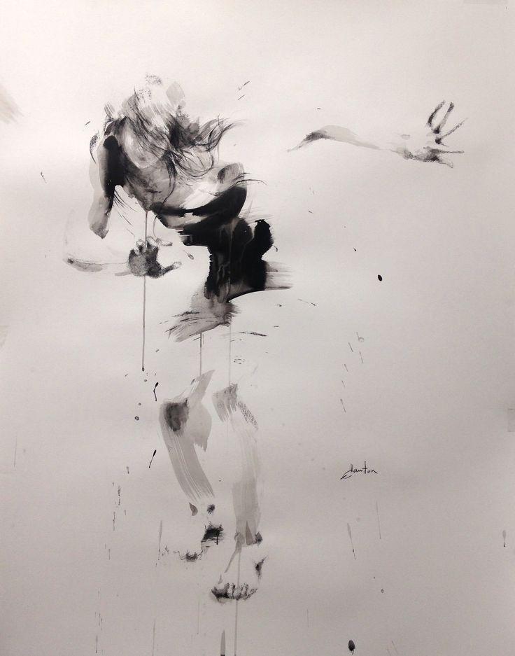 ewa hauton ink on paper 142x112cm