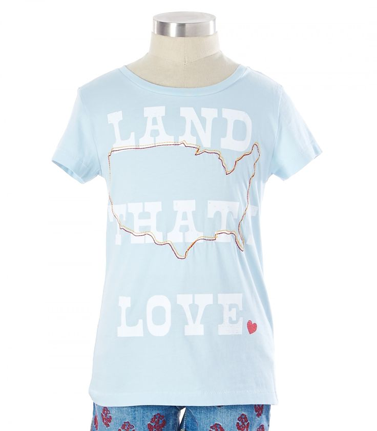 Land That I Love Tee - View All - Categories - sale | Peek Kids Clothing