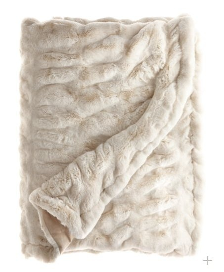 Faux fur blanket. Perfect for winter.