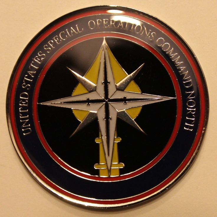 Special Operations Command North RADM Kerry Metz 2-Star Navy SEAL Challenge Coin