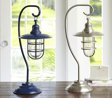 Fisherman Table Lamp #PotteryBarnKids nice nautical lamp $79