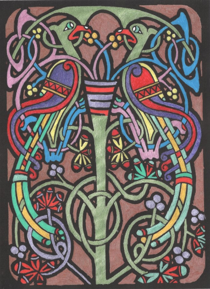 49 Best Images About Celtic Stained Glass On Pinterest
