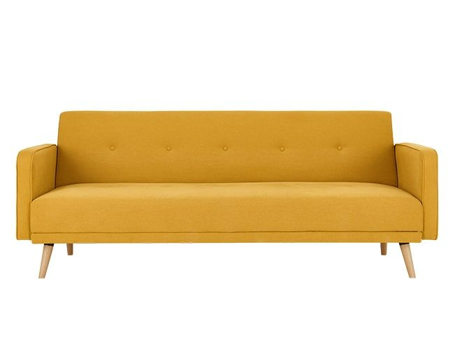 Chou Click Clack Sofa Bed Butter Yellow Small Sofa Bed Large