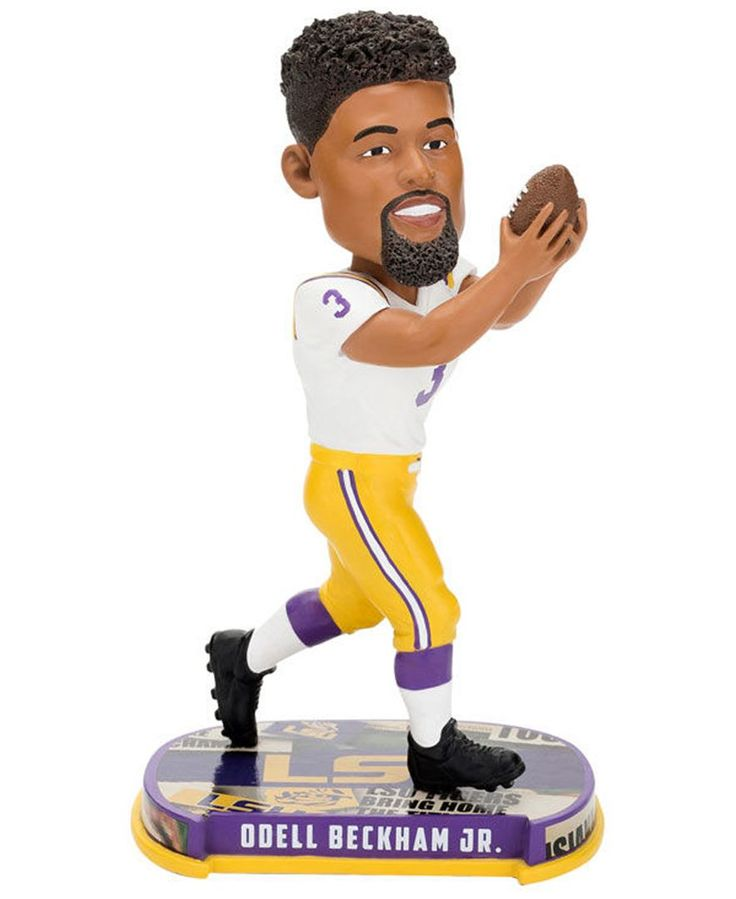 Forever Collectibles Odell Beckham Jr. Lsu Tigers Headline Bobblehead