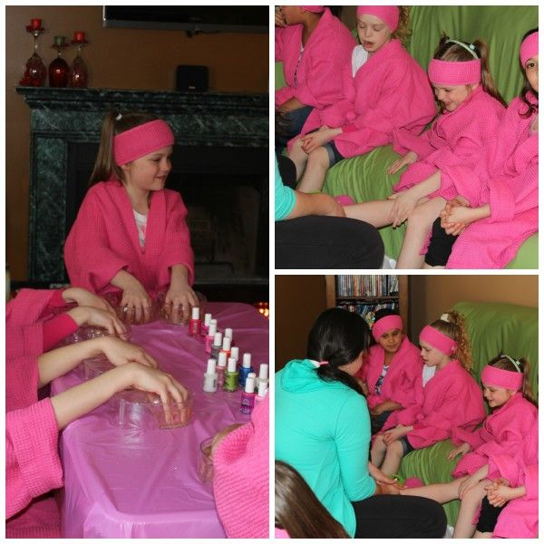 Fun Virtual Nail Salon Spa Kids: Spa Party Ideas For Girls Birthday